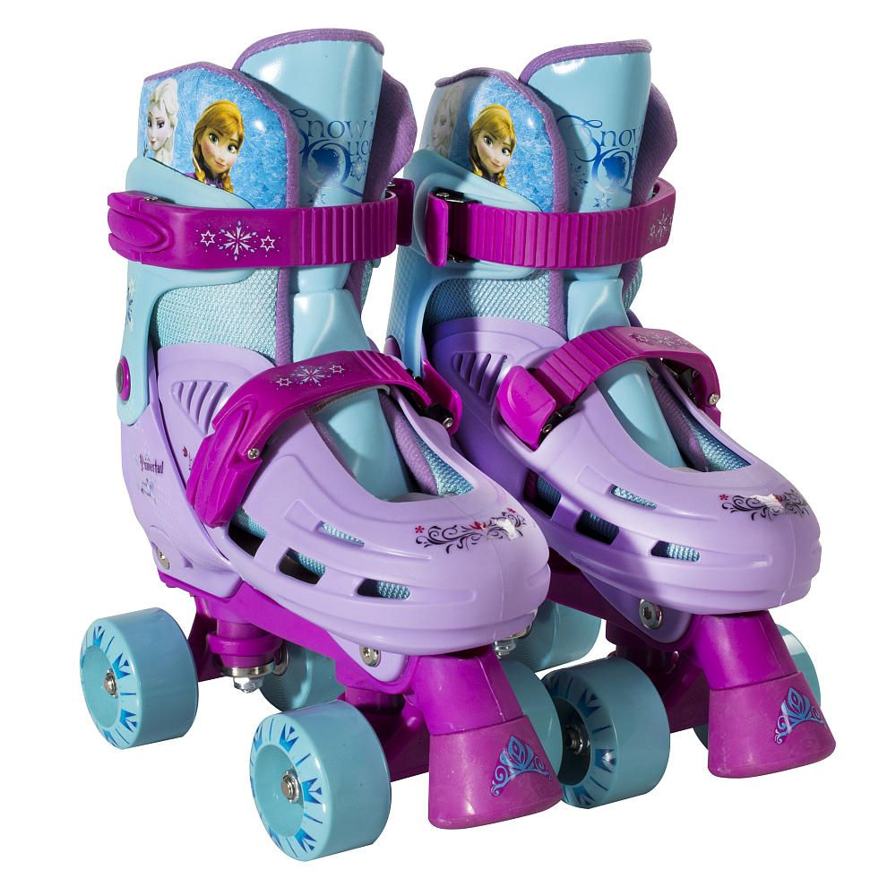 Roller shoes walmart - Playwheels Disney Frozen Adjustable Quad Skates