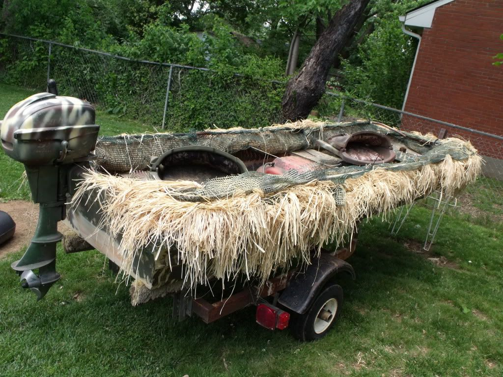 How To Make A Duck Blind For Your Boat 101 Duck Hunting