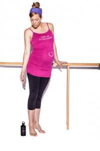 The Best Maternity Workout Clothes - Belly up to the Barre