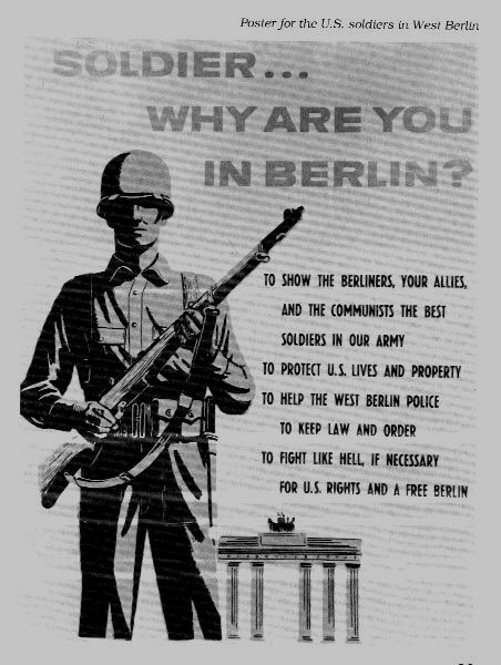 With The Wall Now Turning West Berlin Into An Exclave Deep In The
