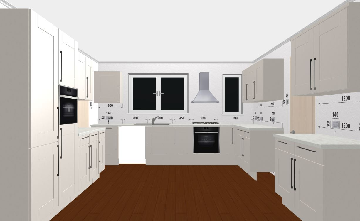 Cabinet Space Check You Can Create Your Own Kitchen Design And Add As Many Cabinets As You Like 3dk Design Your Kitchen Kitchen Planner Kitchen Design Plans