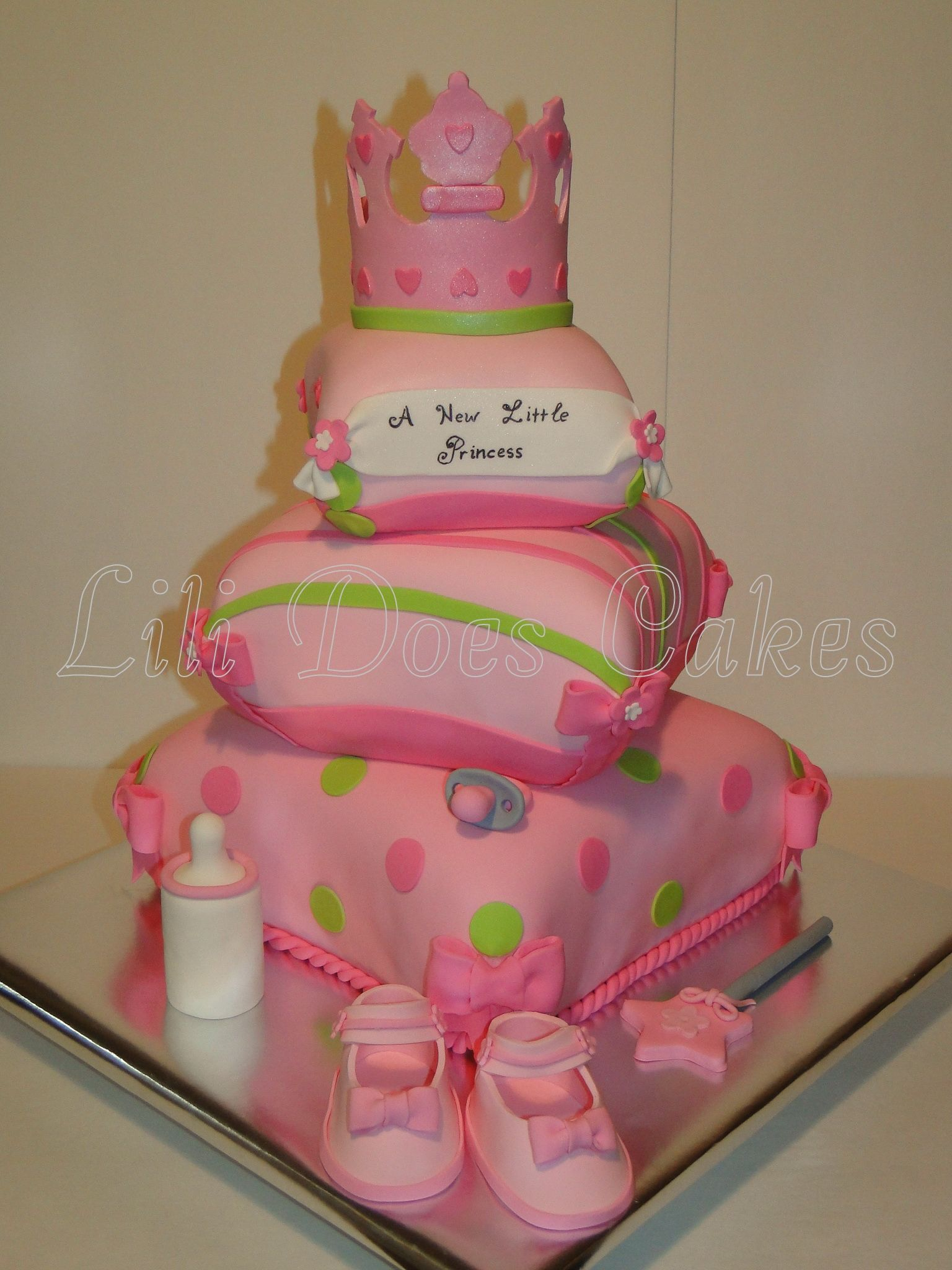 A New Little Princess Baby Shower Cake Baby Shower