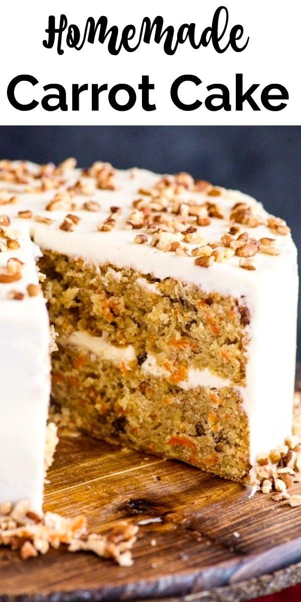 Photo of Homemade  Carrot Cake