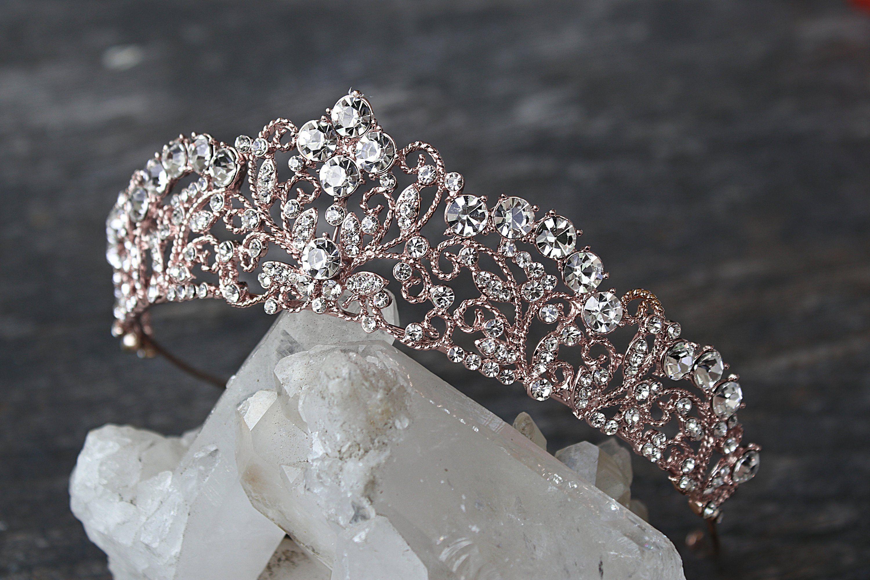 2 OR 3 DIAMANTE FLOWER /& SWAROVSKI ELEMENT HAIR PIN BRIDE BRIDESMAID PROM 1