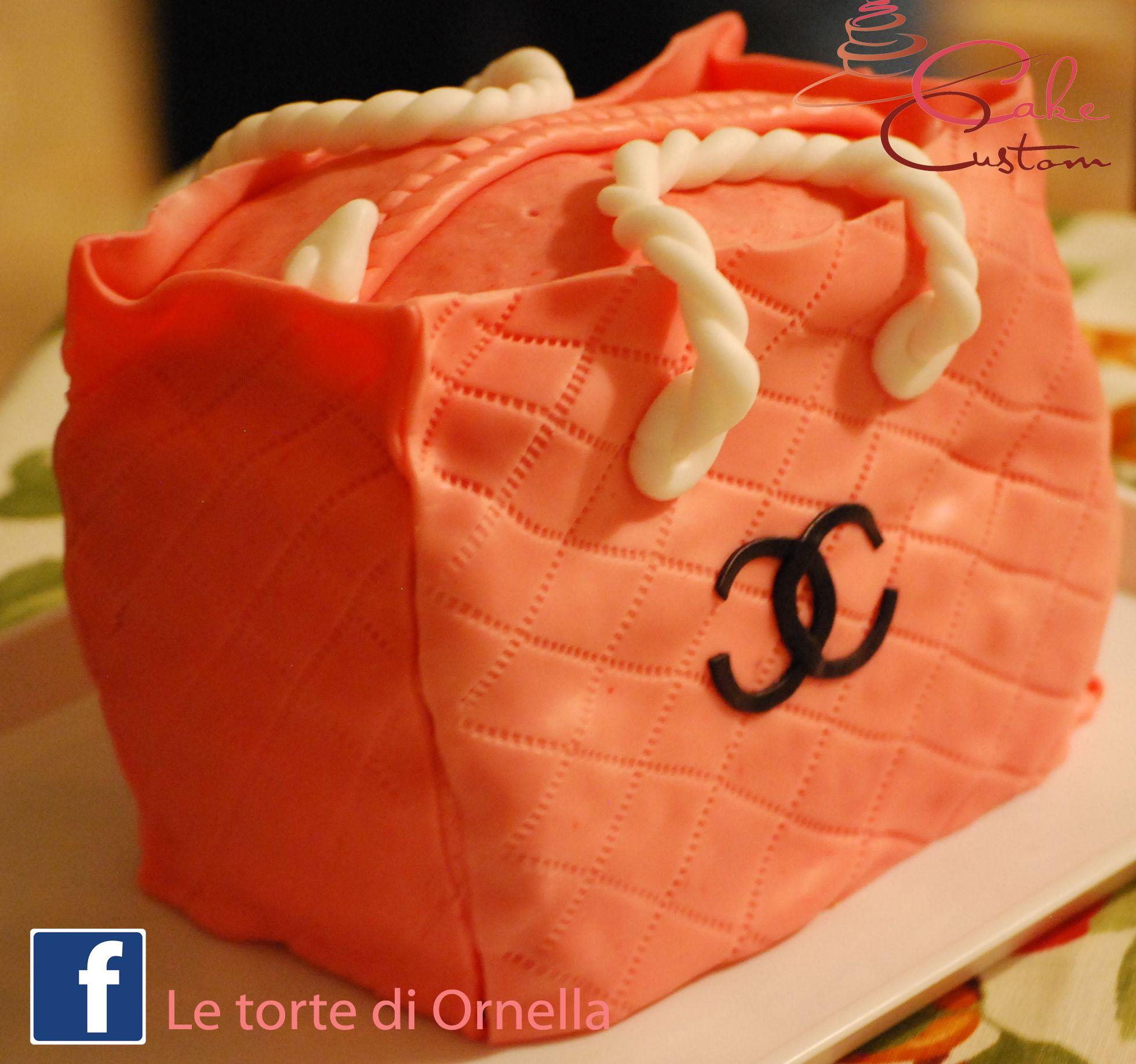 Torta borsa chanel
