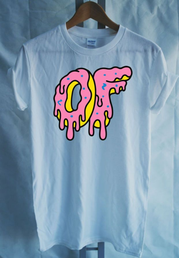 bc35000a4102 Odd Future Donut Big Dripping Donut tshirt Mens Funy T-shirt - OFWGKTA Wolf  Gang Tyler The Creator Unisex Christmas Gift