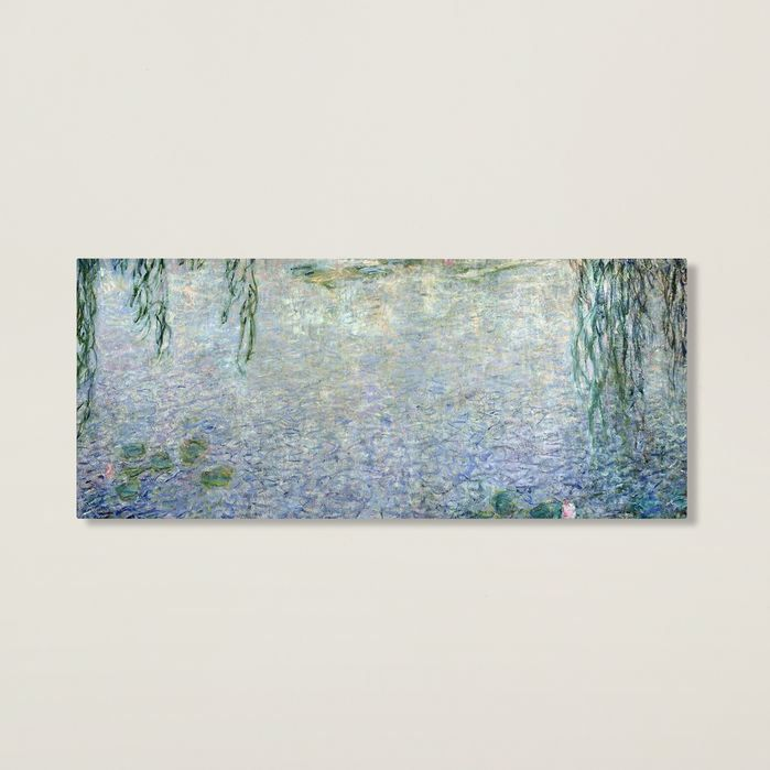 Waterlilies, Morning II by Monet Canvas Giclee Print