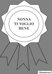 Festa Dei Nonni Disegni Coccarde Biglietti E Un Simpatico