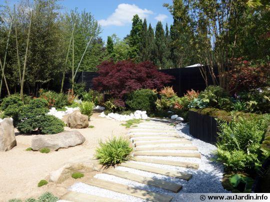 Le Jardin japonais de Pascal LAFORGE pour TRUFFAUT