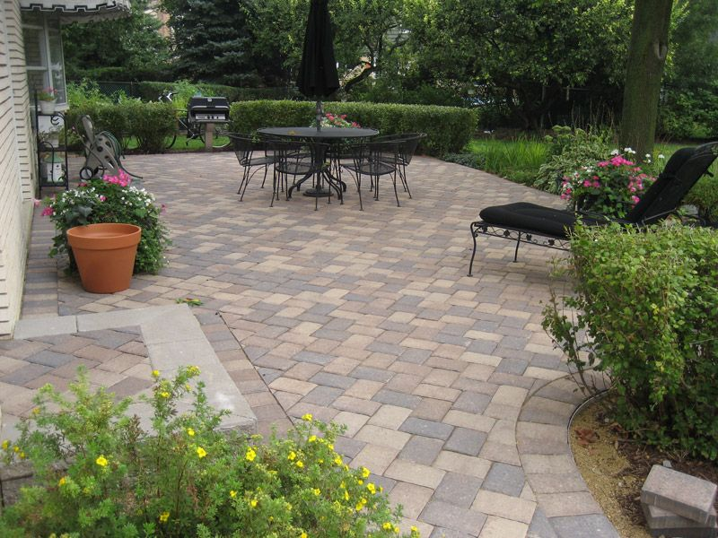 Patios 3D Brick Paving Ideas for my garden Pinterest Paved