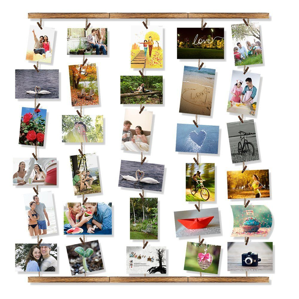AmazonSmile - Love-KANKEI Wall Hanging Picture Photo Frames 26 by 29 ...