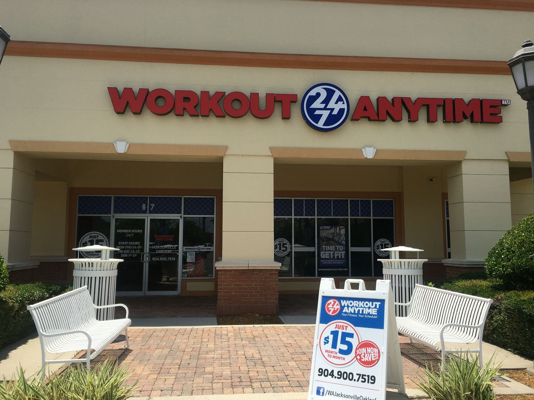 Workout Anytime Oakleaf Jacksonville Fl Open 24 7 Ergoline