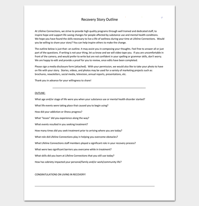Story Outline Example (PDF) | Programming | Story outline