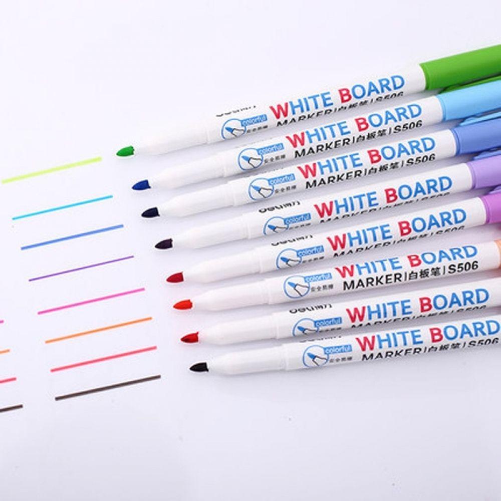 8 Colors Low Odor Dry Erase Markers Whiteboard Erasable Marker Pens Set Ultra Fine Tip Assorted Colors 8 Count Whiteboard Marker Erasable Markers Pen Sets