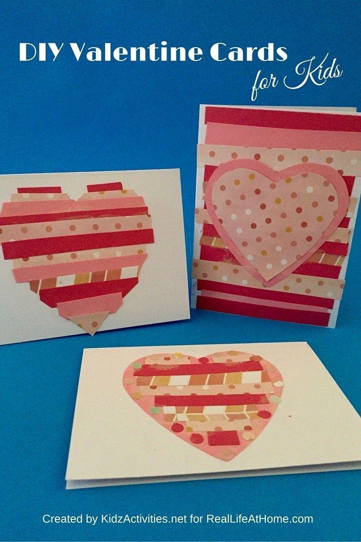 easy diy valentine cards for kids  diy valentines cards