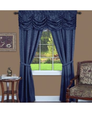 Achim Panache 5 Piece Window Curtain Set 55x63 Reviews Window
