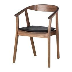 ikea dining chair recliner garden chairs uk stockholm walnut veneer 139 affordable room solutions wood mid century