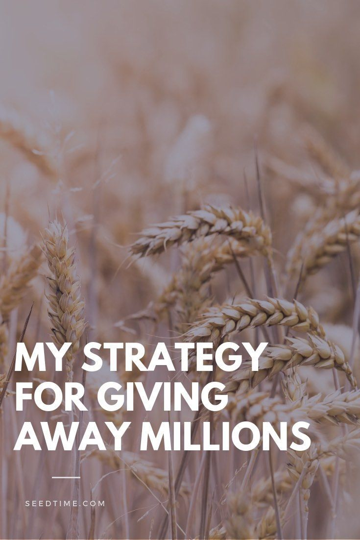 What if we could create millions of dollars only to give it away? How many missionaries could be supported? How many evangelistic outreaches could be funded? How many lost could be reached? Here's My Strategy for Giving Away Millions! #christianliving #givingmoney #biblestudy #faithandfinances #charitablegiving