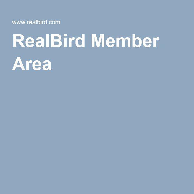 RealBird Member Area