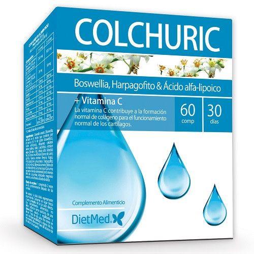 Colchuric 60 Comprimidos Herbolario Oriente Vitamina E Acida