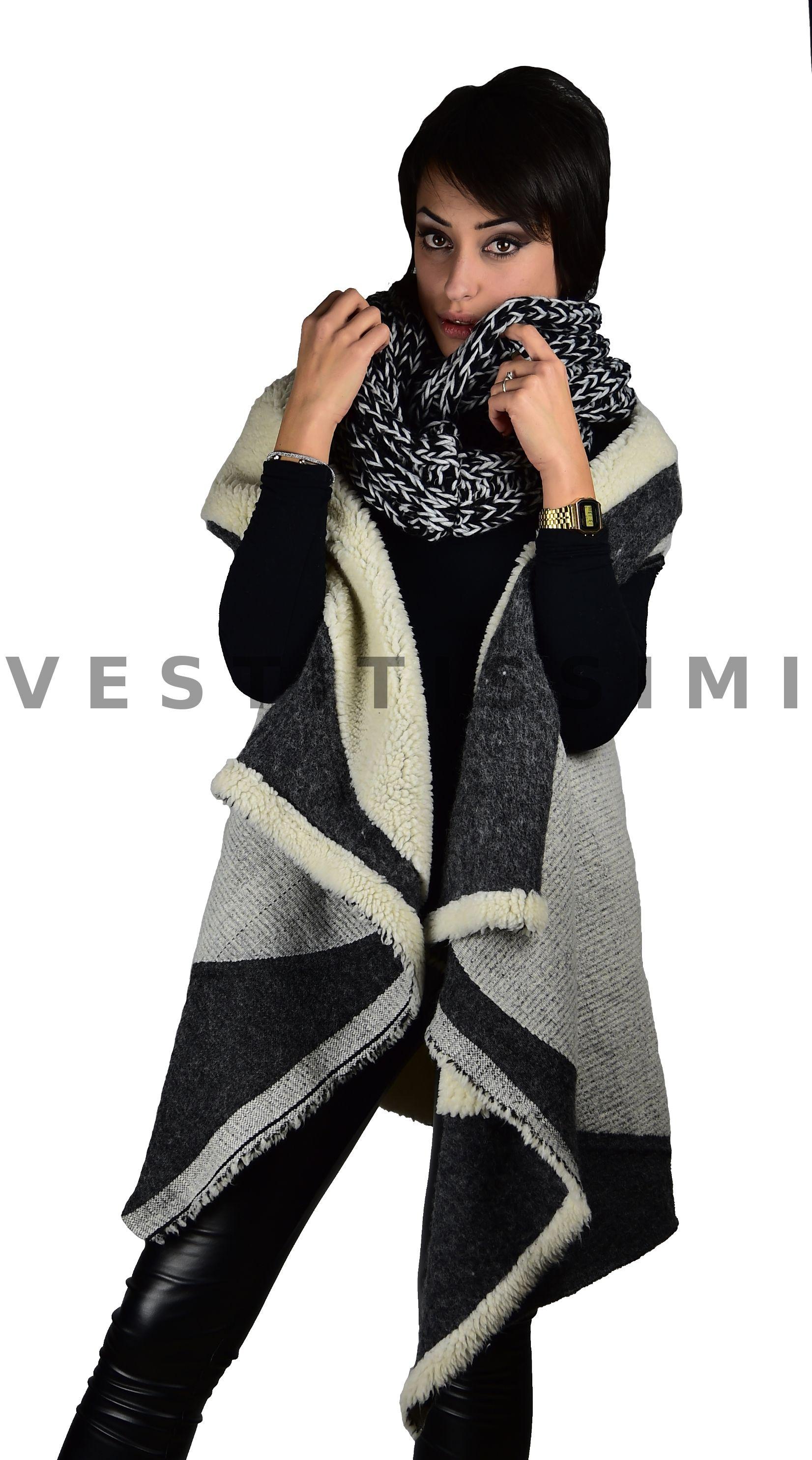 stile di moda del 2019 Garanzia di qualità al 100% vendita limitata Sciarpa scaldacollo donna lana fascia collo sciarpe anello ...