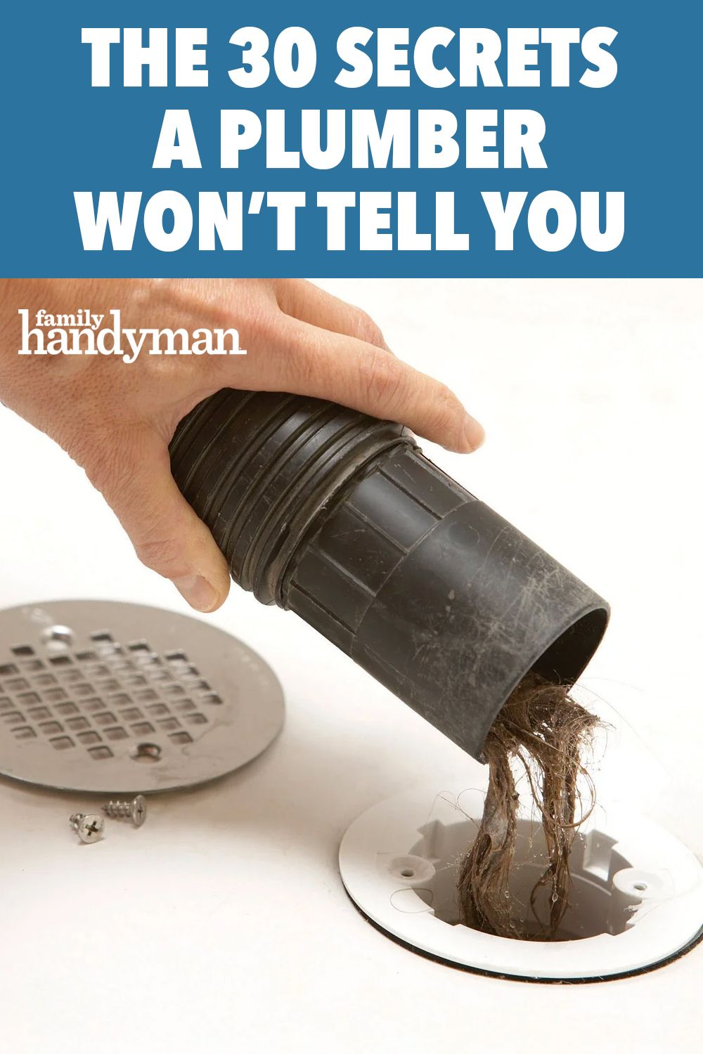 The 30 Secrets A Plumber Won T Tell You In 2020 Handyman Projects Diy Home Repair Home Hacks