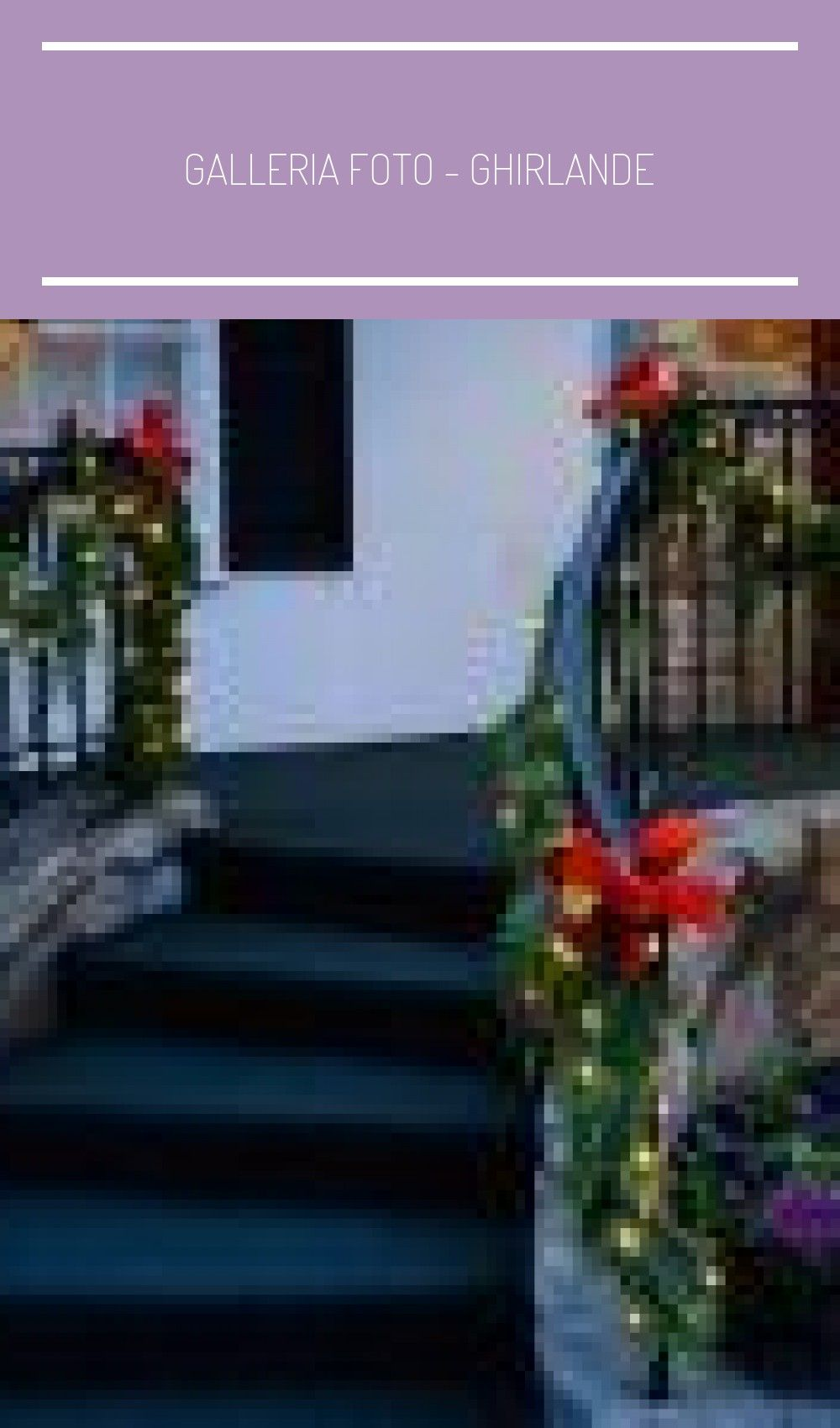 Photo of Galleria foto – Ghirlande di Natale fai da te Foto 11 #decorazioni natalizie fai…