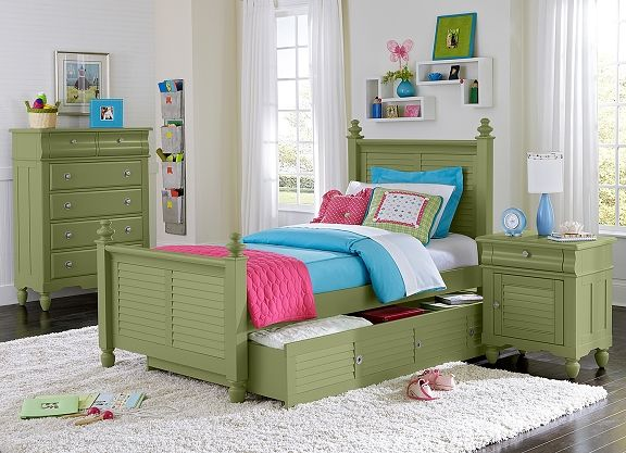 Seaside green kids furniture collection seaside black Seaside collection furniture