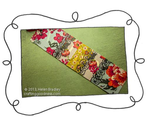 Make A Bookmark With Washi Tape And Recycled Clothing Price