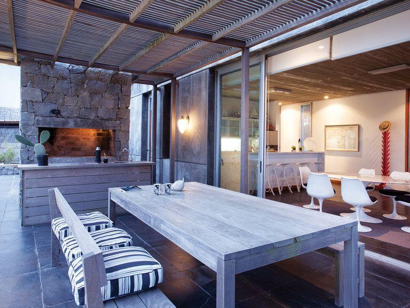 Cocinas De Exterior Apunta La Nueva Tendencia Casas De Playa En