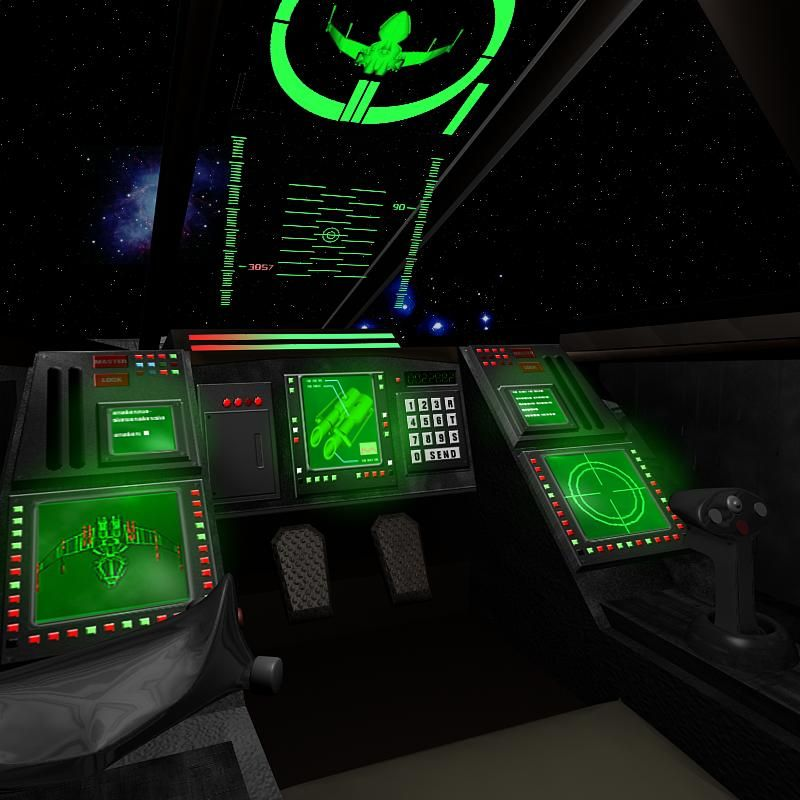 Cockpit pyro by ~Freejack2000 (podships)