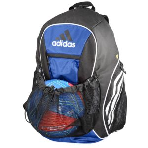 adidas Estadio II Team Backpack - Soccer - Accessories - Black ... a4cb7a9fbf098