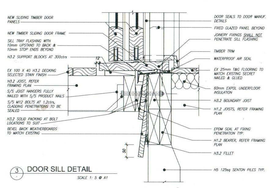 Westpine JoineryJoinery Cross Sections & Flashing Details