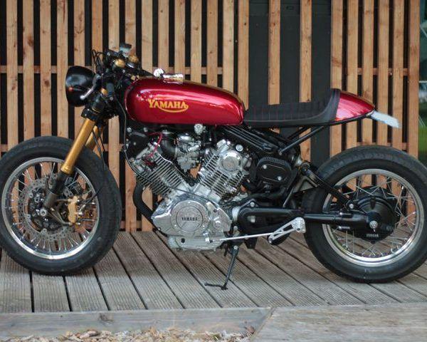Yamaha XV 750 Virago Cafe Racer By Jean Pierre