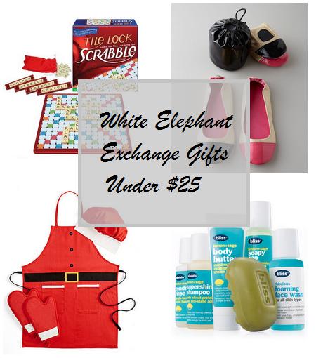 $25 christmas gift exchange ideas