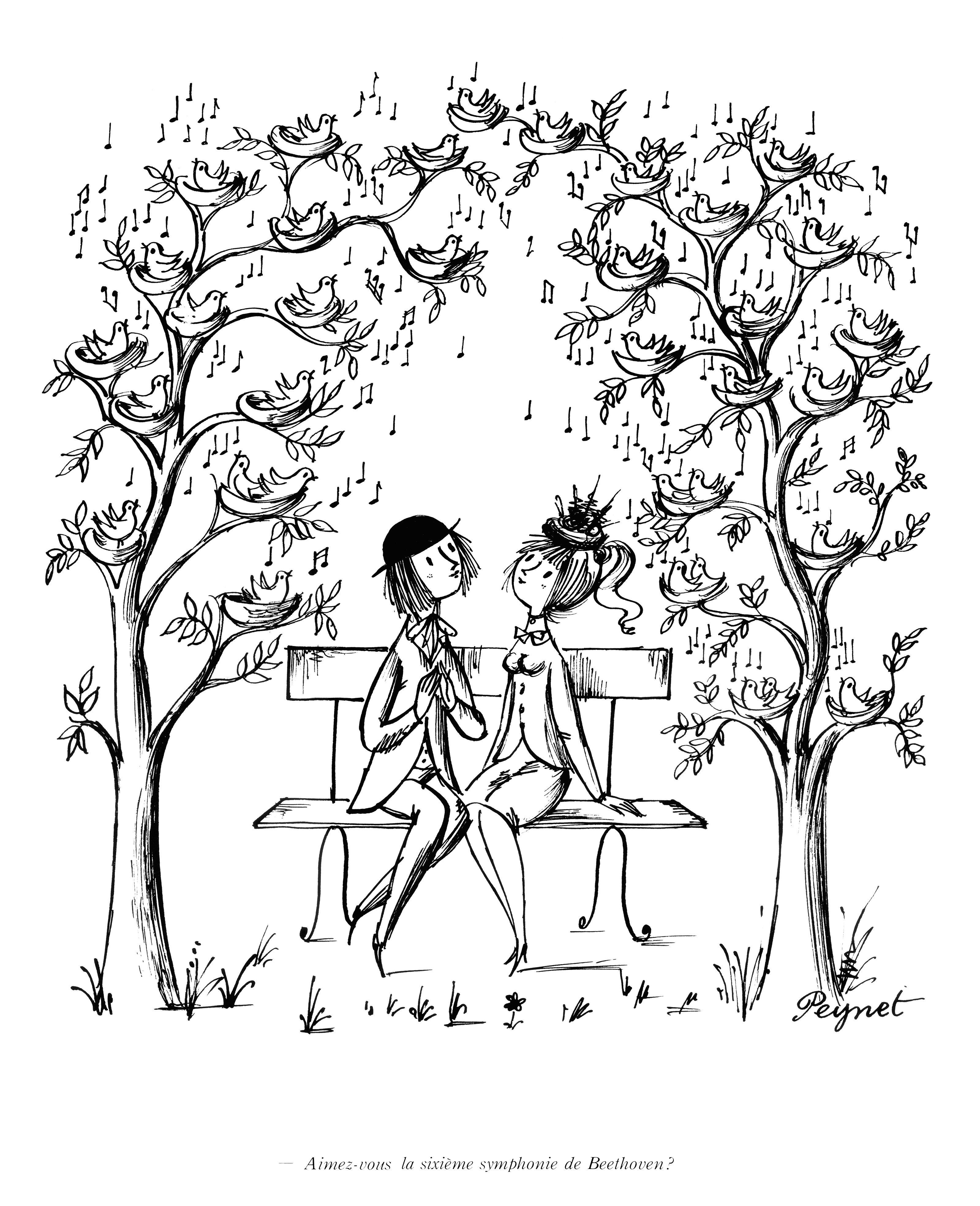 Aimez Vous La Sixieme Symphonie De Beethoven ペイネ イラスト