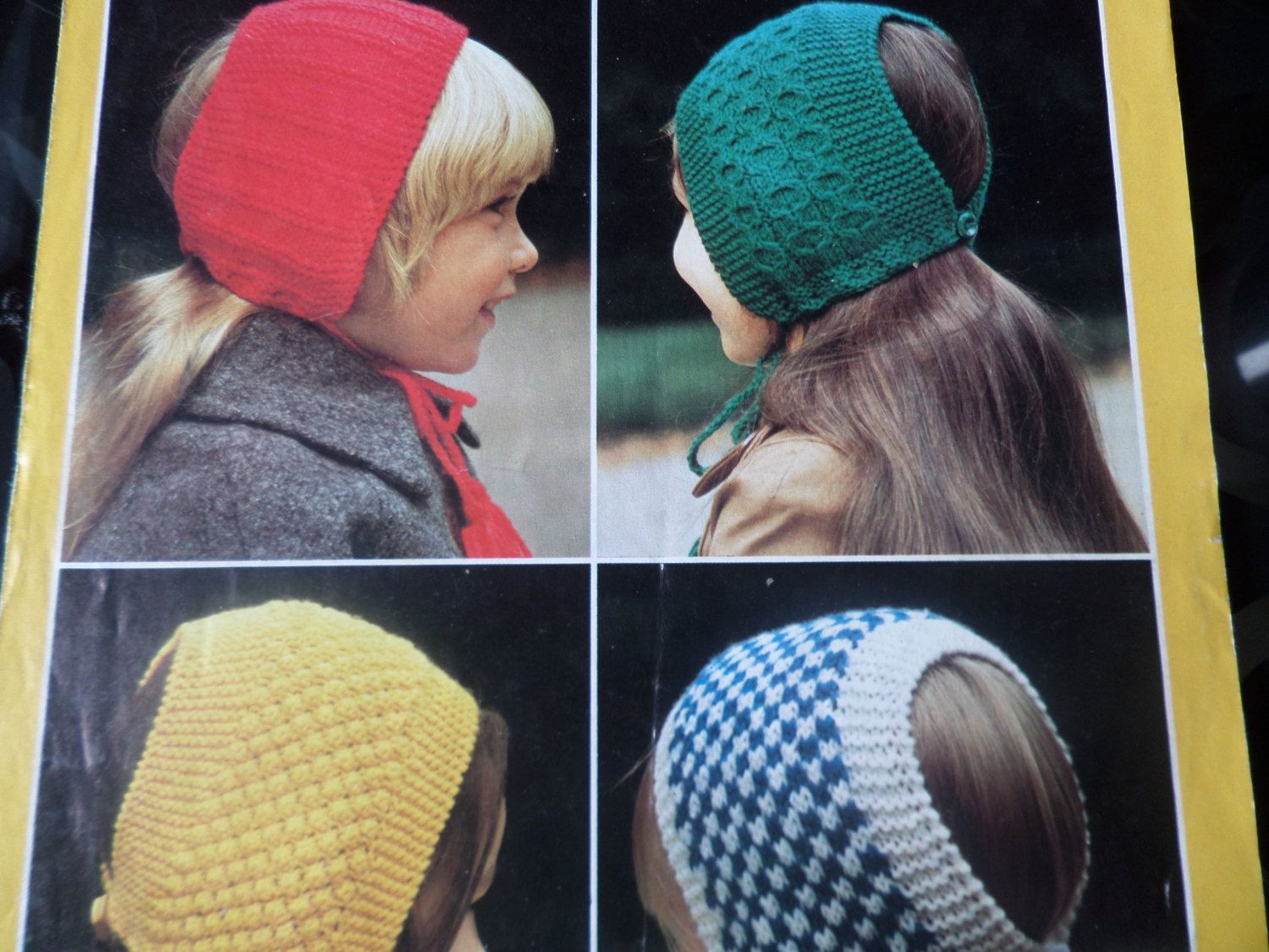 Colorful Head Huggers Knit Patterns Ideas - Sewing Pattern for ...