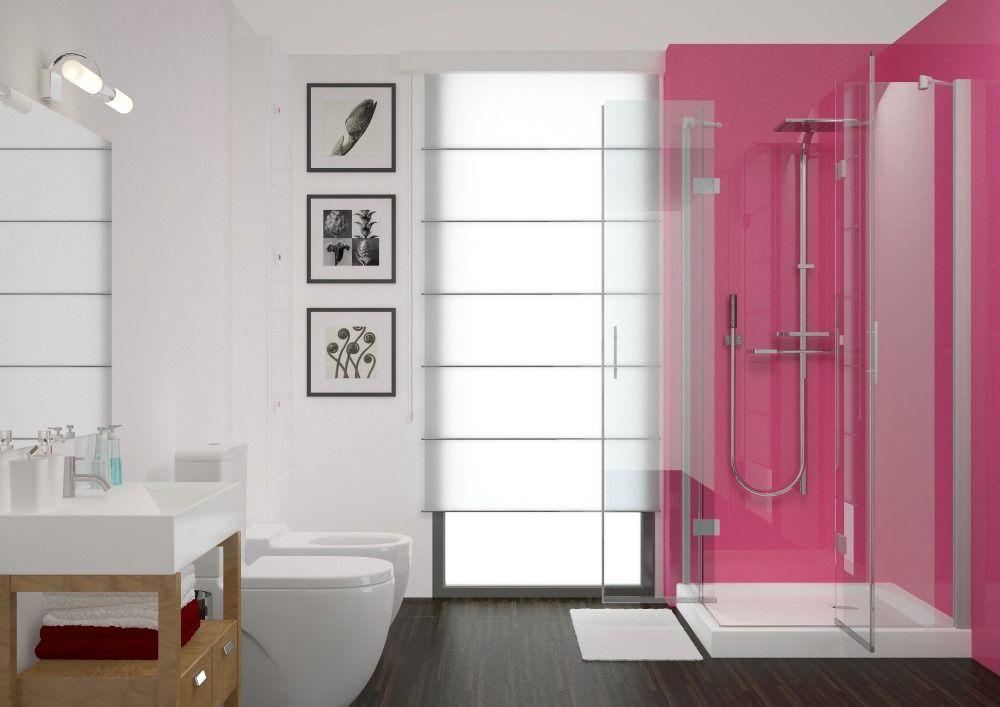 pc009 hot pink 2 5mm hygienic pvc wall cladding sheets on shower wall panels id=56345