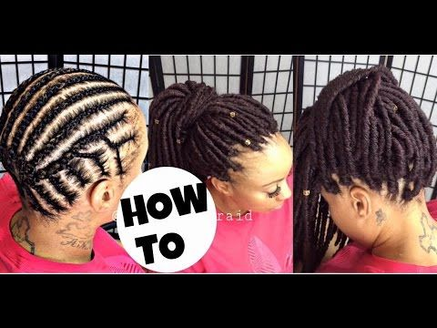 Locs Are Terribly Time Consuming But So Cool You'll Want To Custom Braid Pattern For Crochet Faux Locs