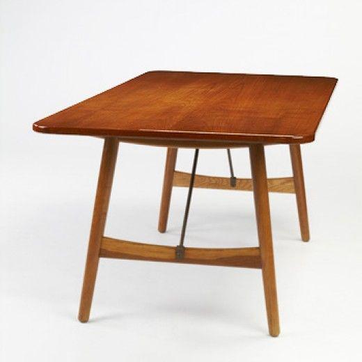 Hans Wegner Dining Table Furniture Design Modern Scandinavian