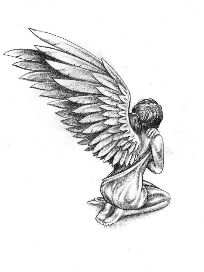 изгиба картинки для тату ангел самое главное