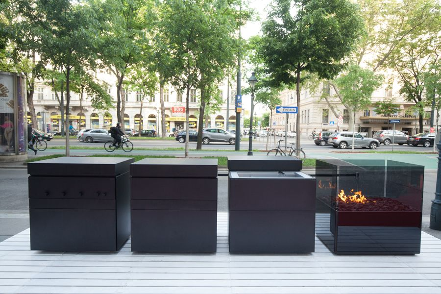 Steininger Outdoorküche : Rock air ourdoorkitchen showroom vienna schubertring steininger