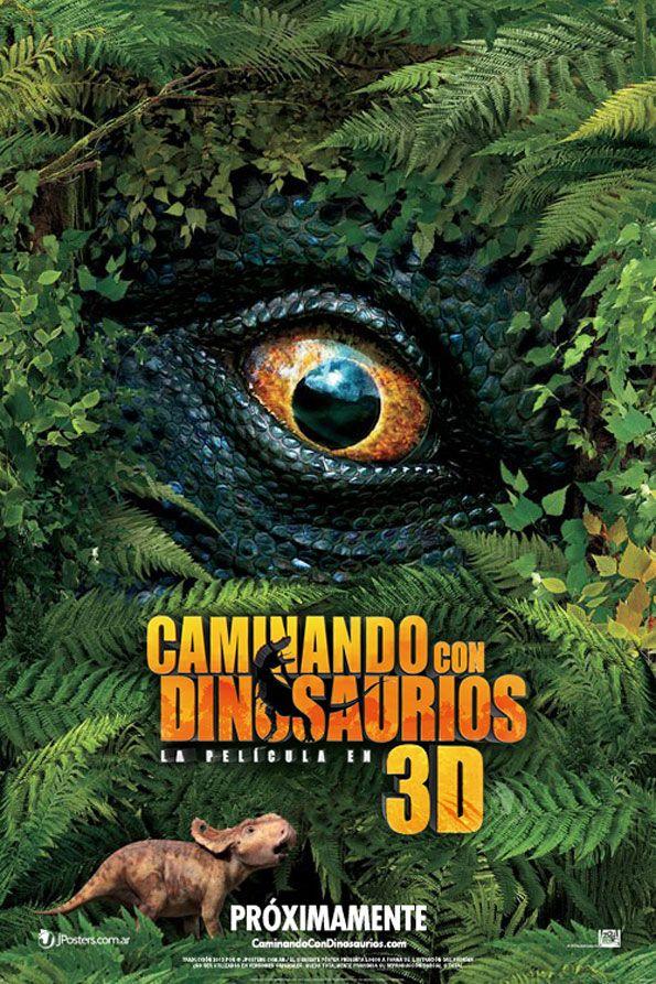 Cartel De La Pelicula Caminando Entre Dinosaurios 3d Walking With Dinosaurs Dinosaur Posters Dinosaur Movie