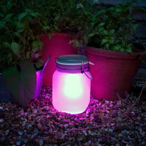 Jar Lights Solar Lamp