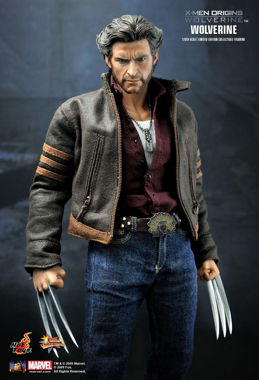 Hot Toys X Men Origins Wolverine 1 16th Scale Collectible Figure Wolverine Costume Wolverine Jacket Wolverine Marvel