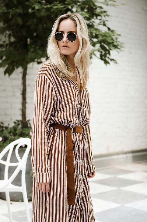 a39adadd422 Moon River Button Down Shirt Dress With A Slit  bohochicstyle  boho ...