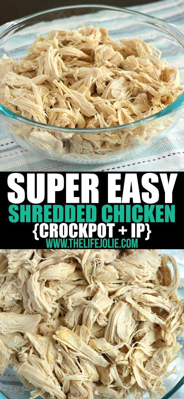 Super-Easy Shredded Chicken images