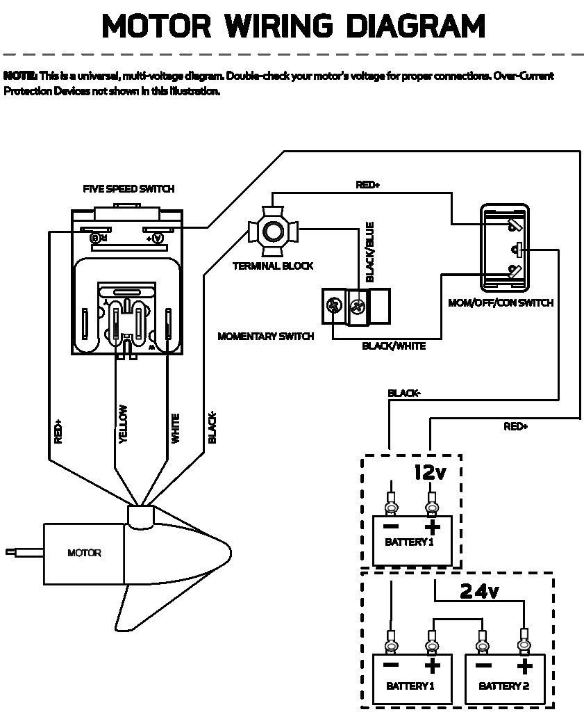Universal Switch Wiring Minn Kota Electrical Diagram Diagram