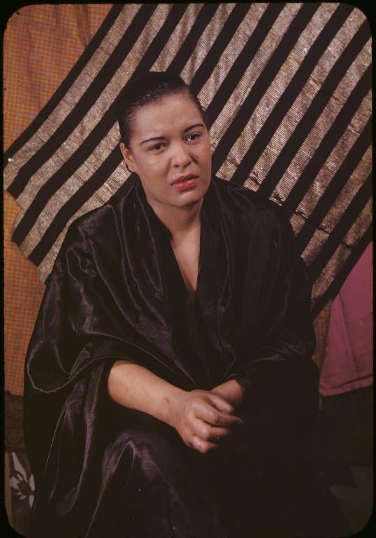 Billie Holiday by Carl van Vechten