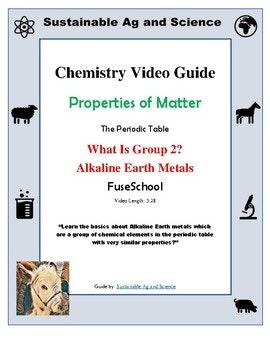 Chemistry what is group 2 alkaline earth metals periodic table chemistry what is group 2 alkaline earth metals periodic table fuseschool periodic table chemistry periodic table and chemistry urtaz Images